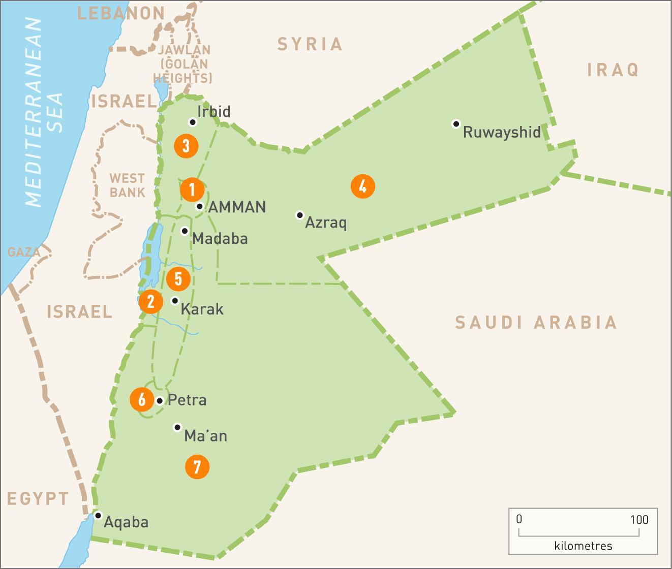 Jordanien Karte.Amman Karte Von Jordanien Amman Jordan Auf Der Karte West Asien