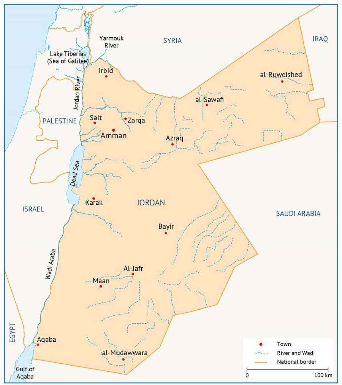 Jordanien Karte.Universität Von Jordanien Karte Karte Von Der Universität Von